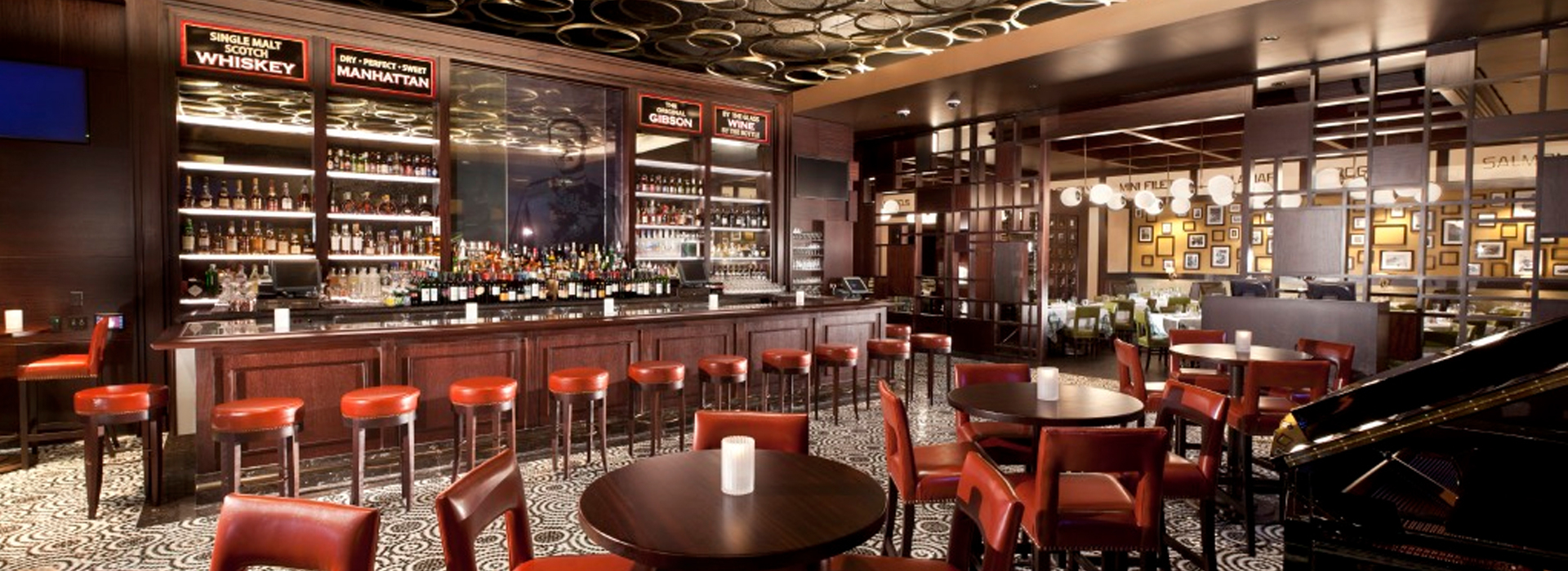 Rush Street properties have a wide variety of restaurant and bar options including proprietary concepts, as well as partnerships with well known brands.