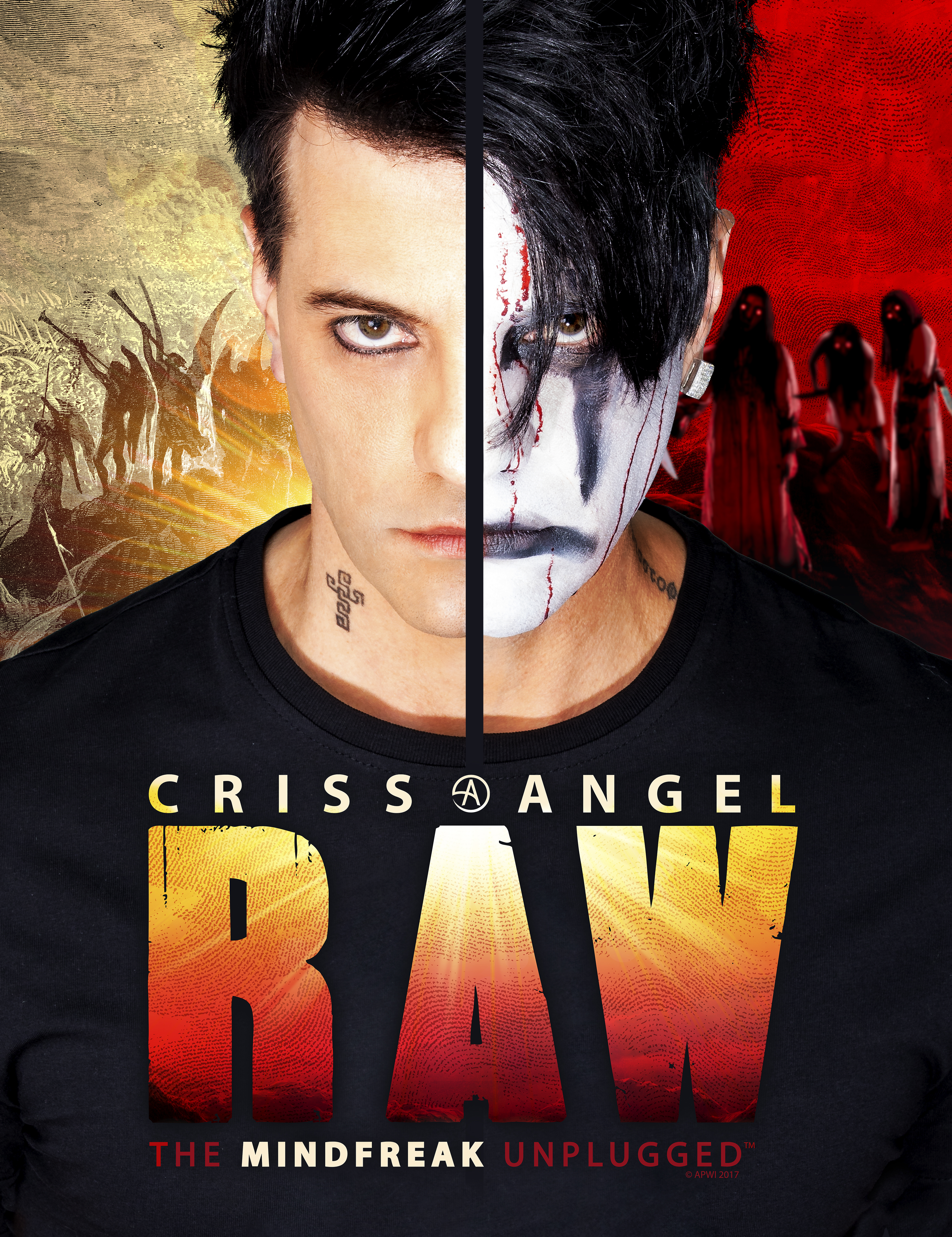 Criss Angel Raw